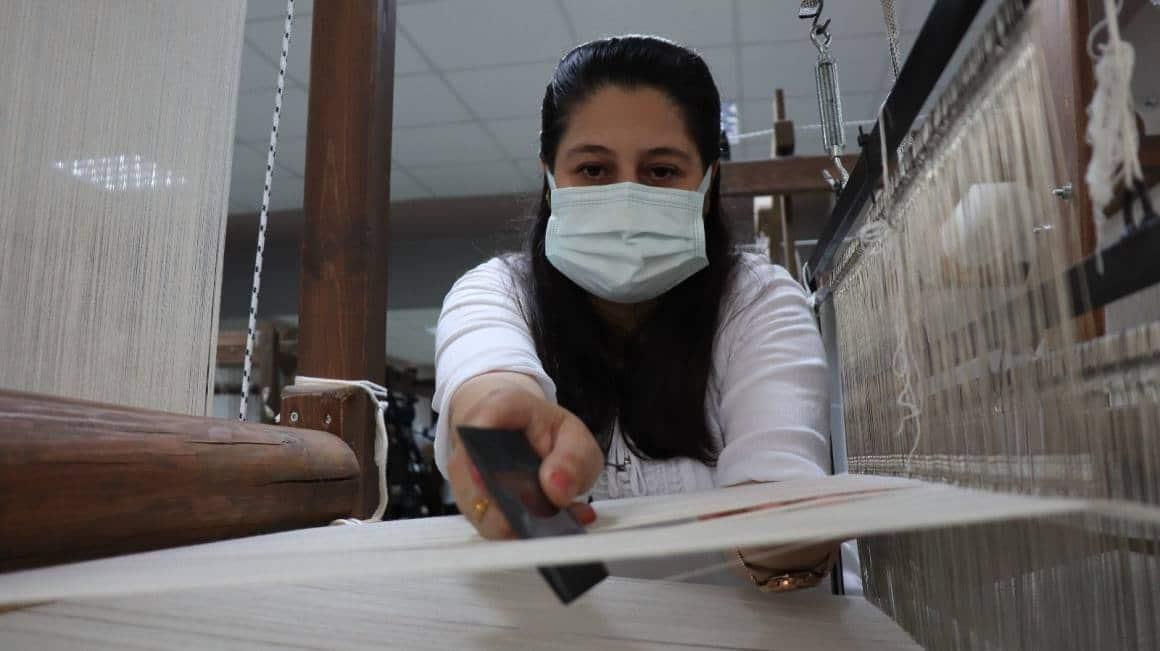 2 bin yıllık Kandıra bezi, dokuma tezgahlarında yeniden canlanıyor