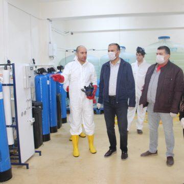 Siirt Zübeyde Hanım Mesleki ve Teknik Anadolu Lisesi'nden Türkiye'ye Hijyen Malzemeleri Üretimi (Video)