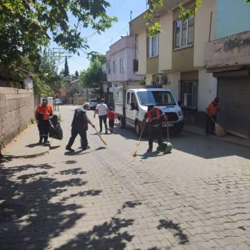 Onikişubat Belediyesi Mobil Temizlik Ekibi Kurdu