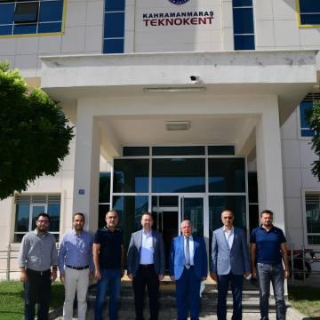 Başkan Mahçiçek, Teknokent'i Ziyaret Etti.