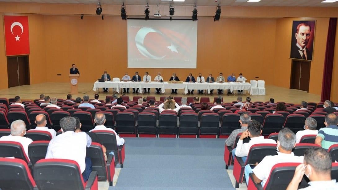 Albak: 'Eğitim kurumlarımızın vizyon sahibi olmasını istiyoruz'