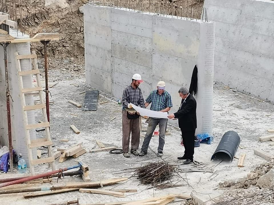 Altıntaş'ta yeni köprü yapımı
