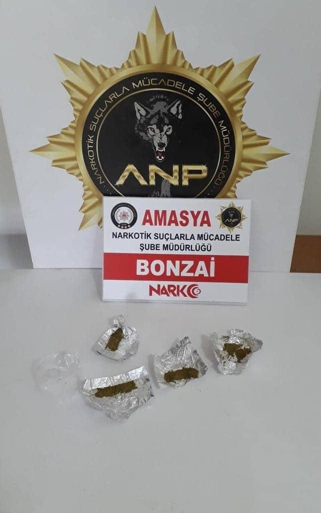 Amasya'da uyuşturucu operasyonu: 5 tutuklama