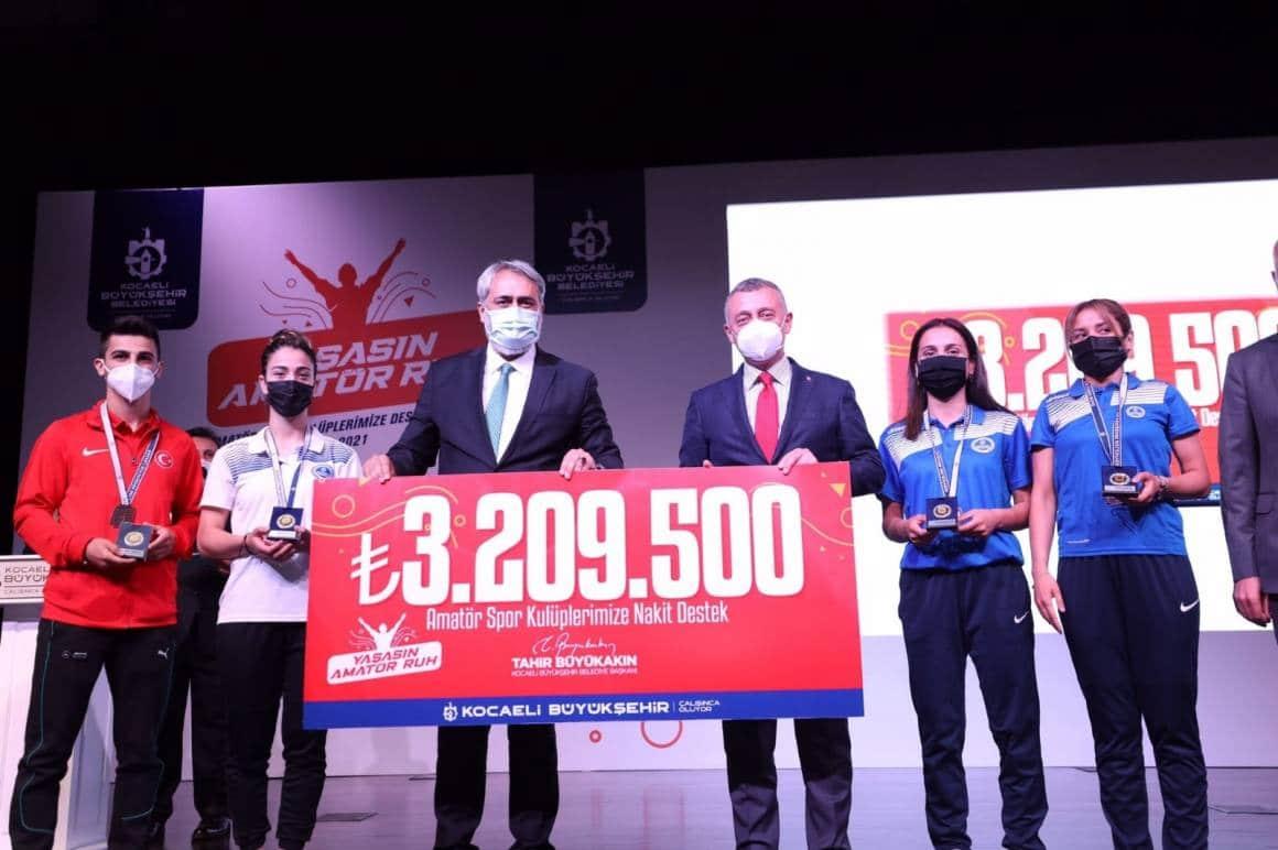 Amatör spora 2 yılda 100 milyonluk destek