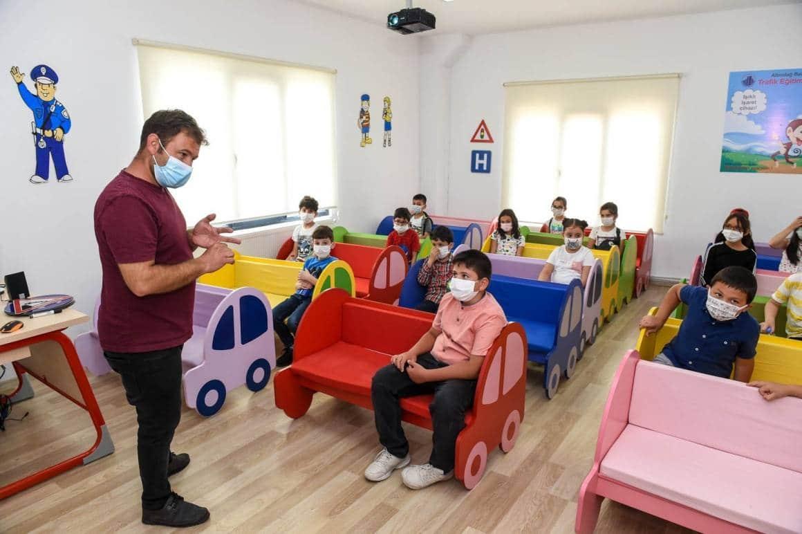 Ankara'da çocuklara trafik aşısı