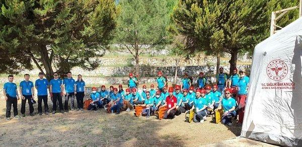 Aydın'da Umke yeni rengi ve amblemiyle sahada
