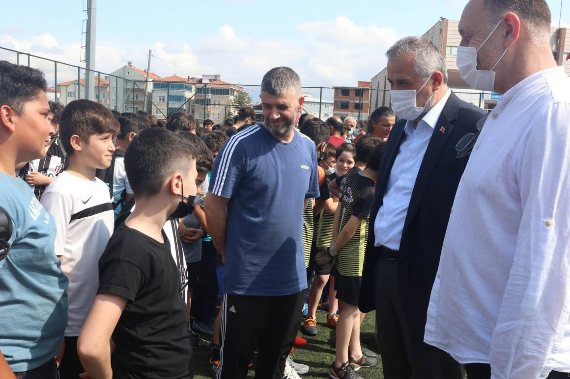 Bafra'da amatör kulüplere destek