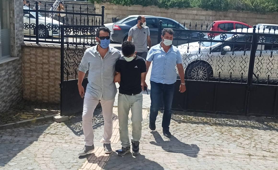 Bafra'da uyuşturucu operasyonu
