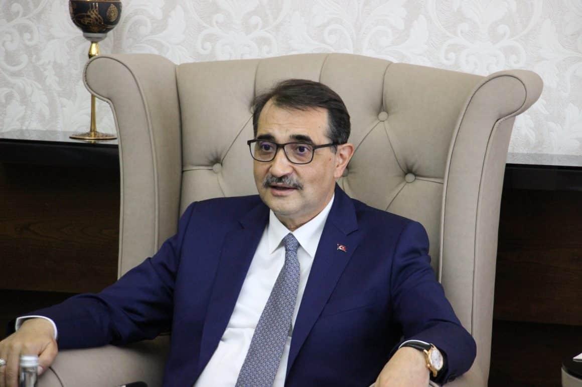 """Bakan Dönmez: """"2023 hedefimiz 100 bin varil petrol"""""""