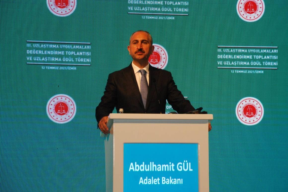 Bakan Gül: '2017'den beri 1 milyon 14 bin dosyada uzlaşıldı'