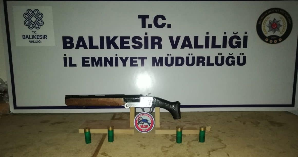 Balıkesir'de 129 gözaltı