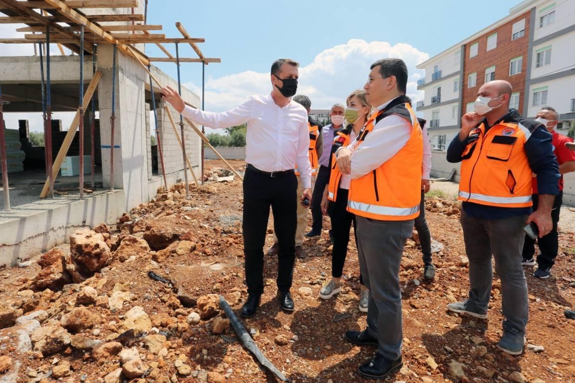 Baraj Mahallesi'ne spor salonu yapılıyor