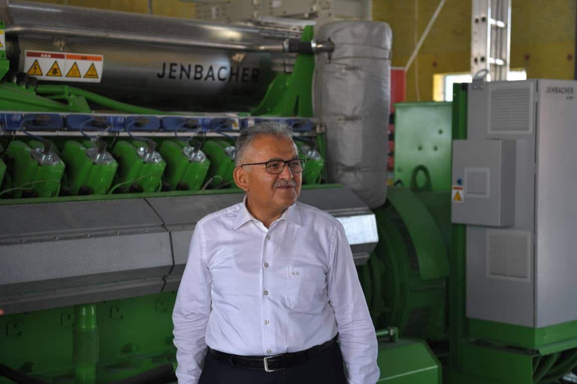 Başkan Büyükkılıç: 'Biyogaz tesisi bir dönüm noktası'