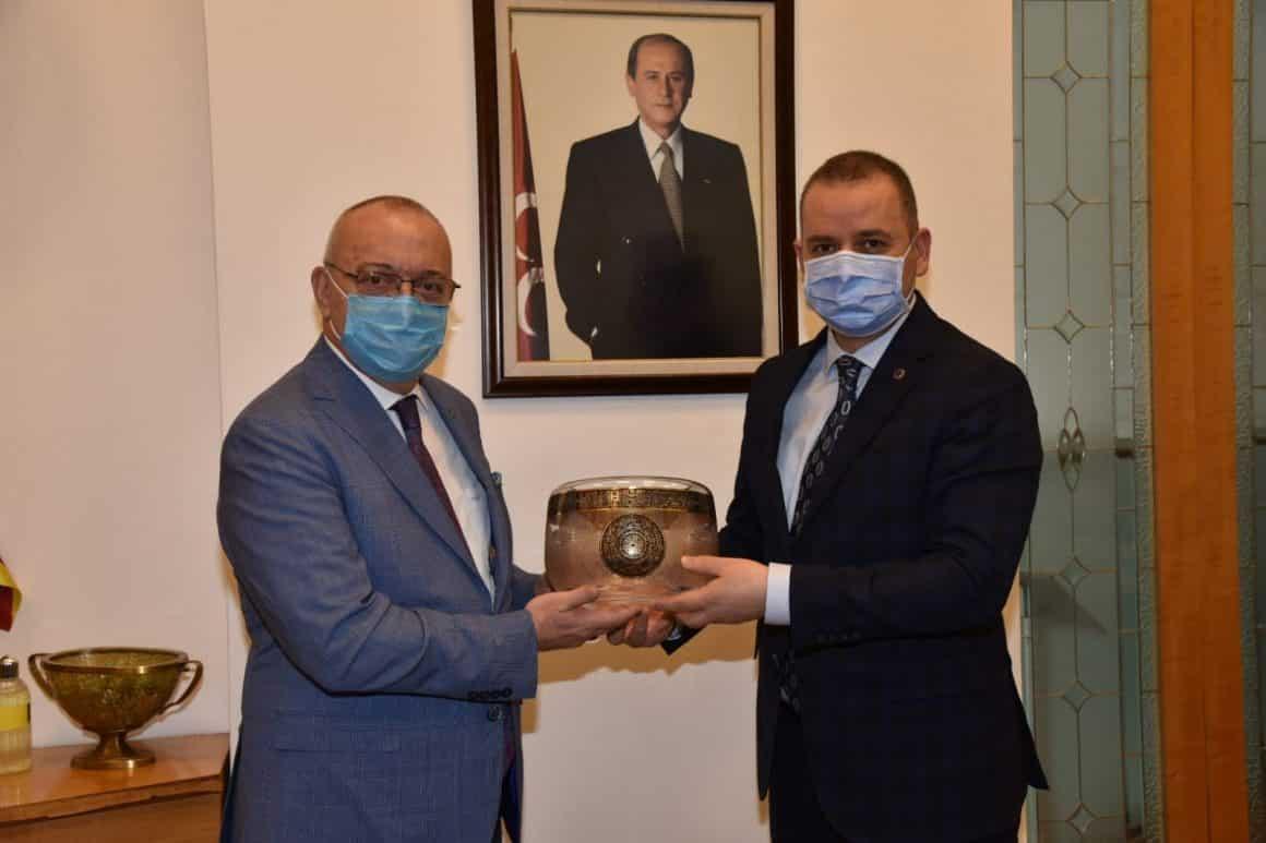 Başkan Ergün, MHP Genel Merkezini ziyaret etti
