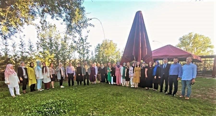 Başkan Ertuğrul Çetin'den öğretmenlerle yıl sonu değerlendirme toplantısı