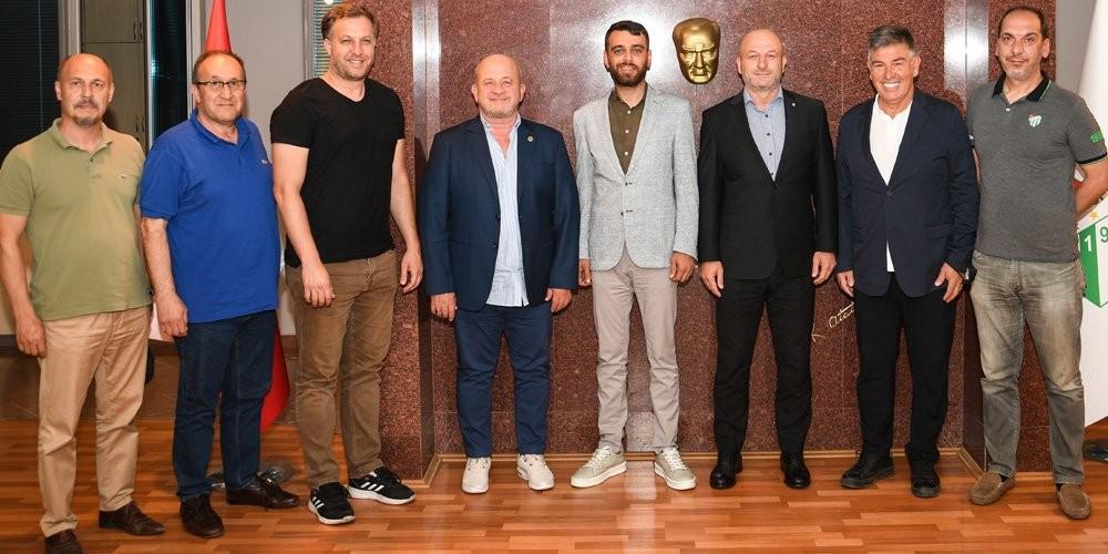 Bursa Fan Club'tan Bursaspor'a ziyaret
