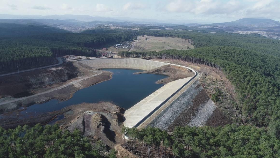 Bursa Keles Kocayayla Göleti sulaması çalışmaları devam ediyor