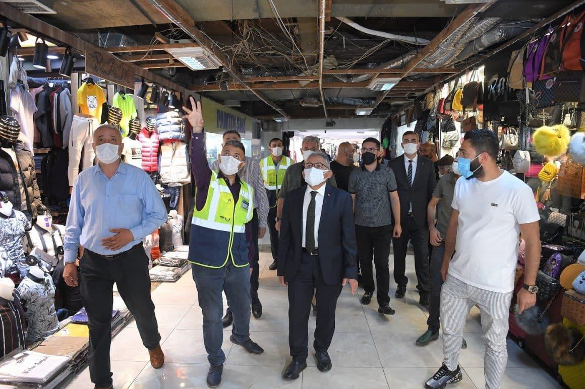 Büyükşehir'den Yeraltı Çarşısı'nda 10 milyon TL'lik modern çalışma
