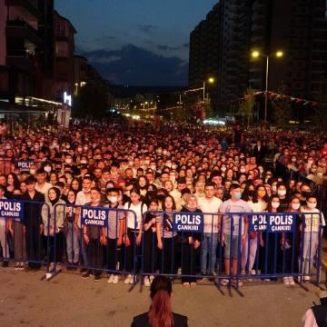 Çankırı'da 'Zafer' konserine yoğun ilgi