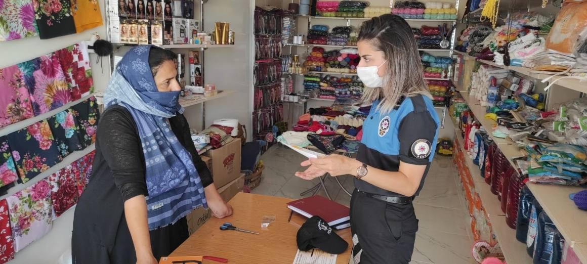 Cizre polisi, 'Suç eşyasının alınıp, satılması ve cezası' konusunda vatandaşları bilgilendirdi