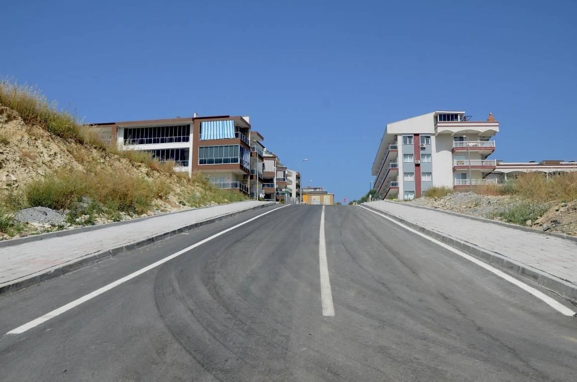 Değirmendere Mahallesi'ne 29 bin metrekare yol yapıldı