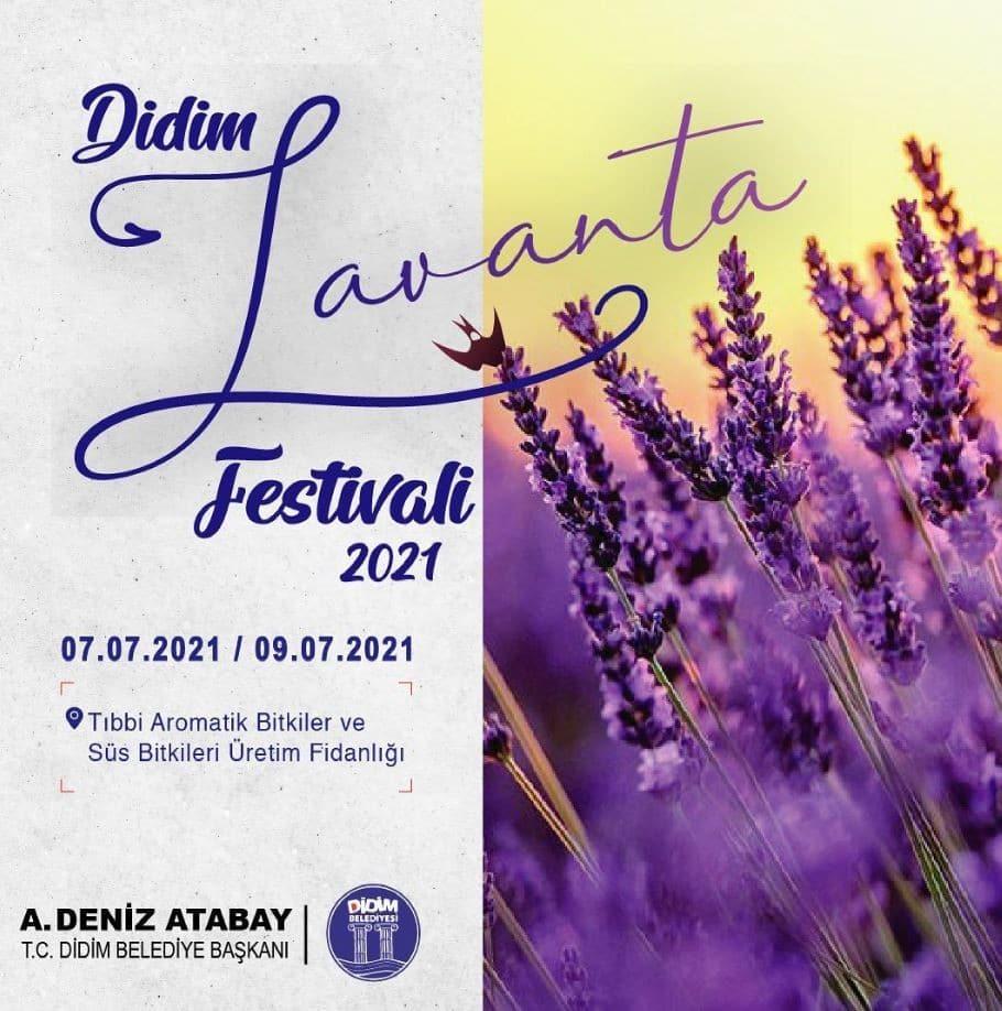 Didim 'Lavanta Festivali'ne sayılı saatler kaldı