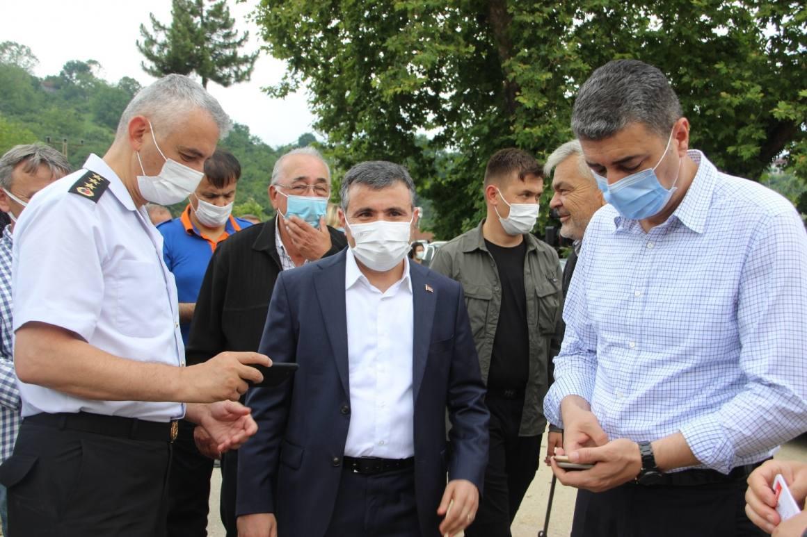 Düzce Valisi Atay: 'Yaraları kısa süre içinde saracağız'
