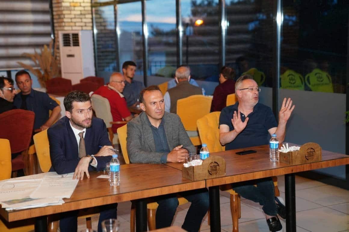 Erbaa'da orta ölçekli sanayi sitesi için istişare toplantısı yapıldı