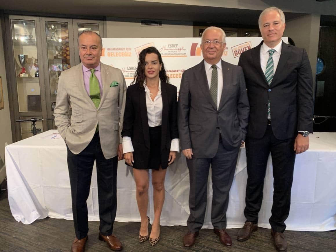 Eşref Hamamcıoğlu ve Cemal Özgörkey, Columbus Projesi'ni tanıttı