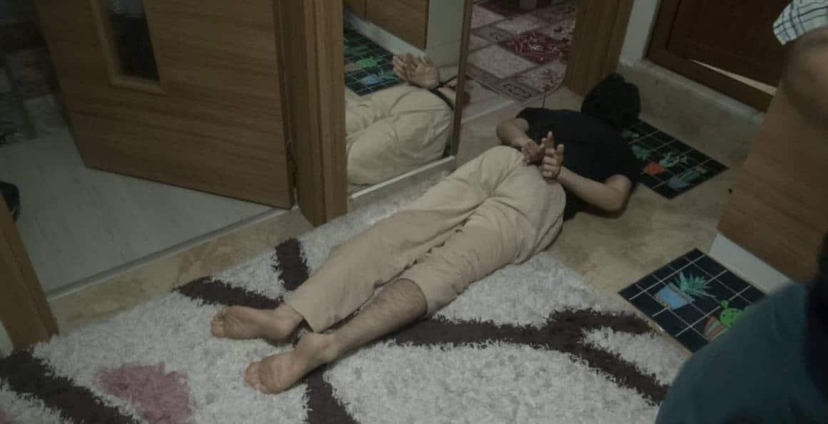 FETÖ'den ihraç öğretmen ve 2 üye saklandığı hücre evinde yakalandı
