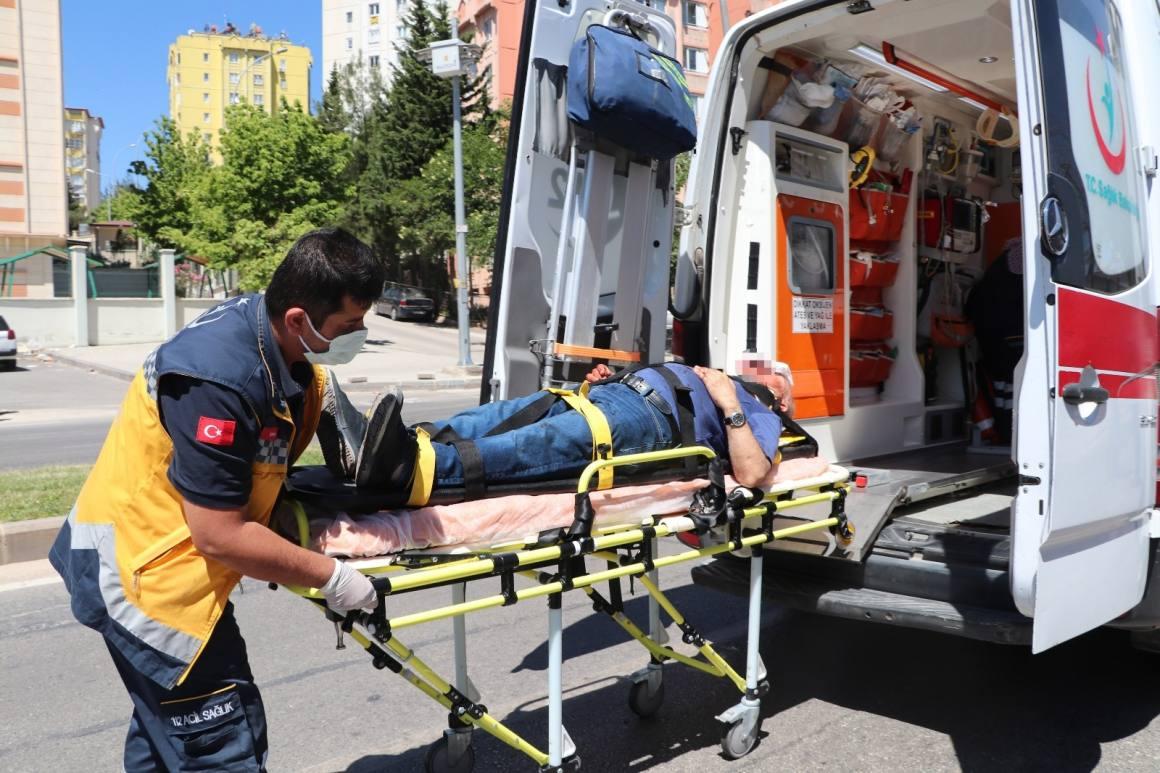 Gaziantep'te iki halk otobüsü çarpıştı: 7 yaralı