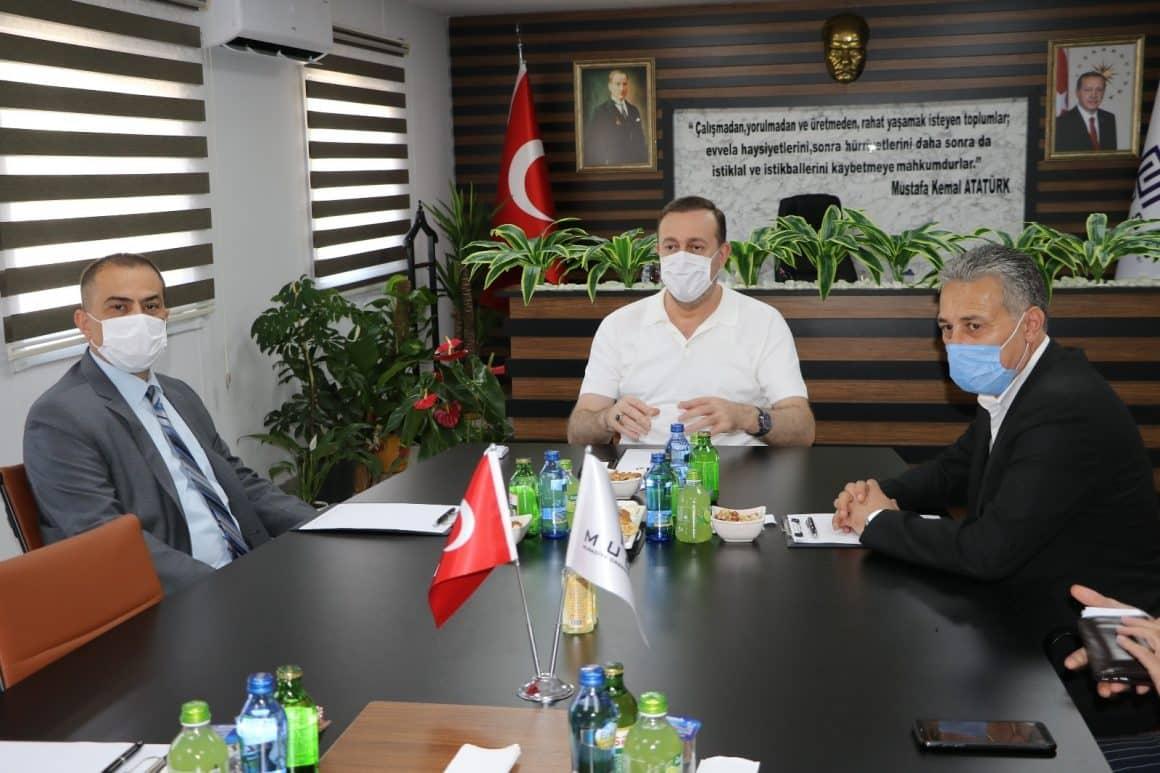 Genel Müdür Aslay, MUOSB'ta incelemelerde bulundu