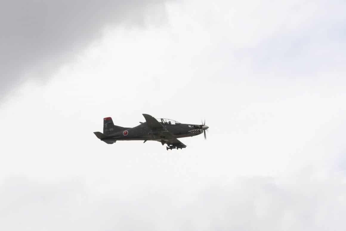 """""""Hürkuş Hyeu"""" ilk kez gösteri uçuşu gerçekleştirdi"""
