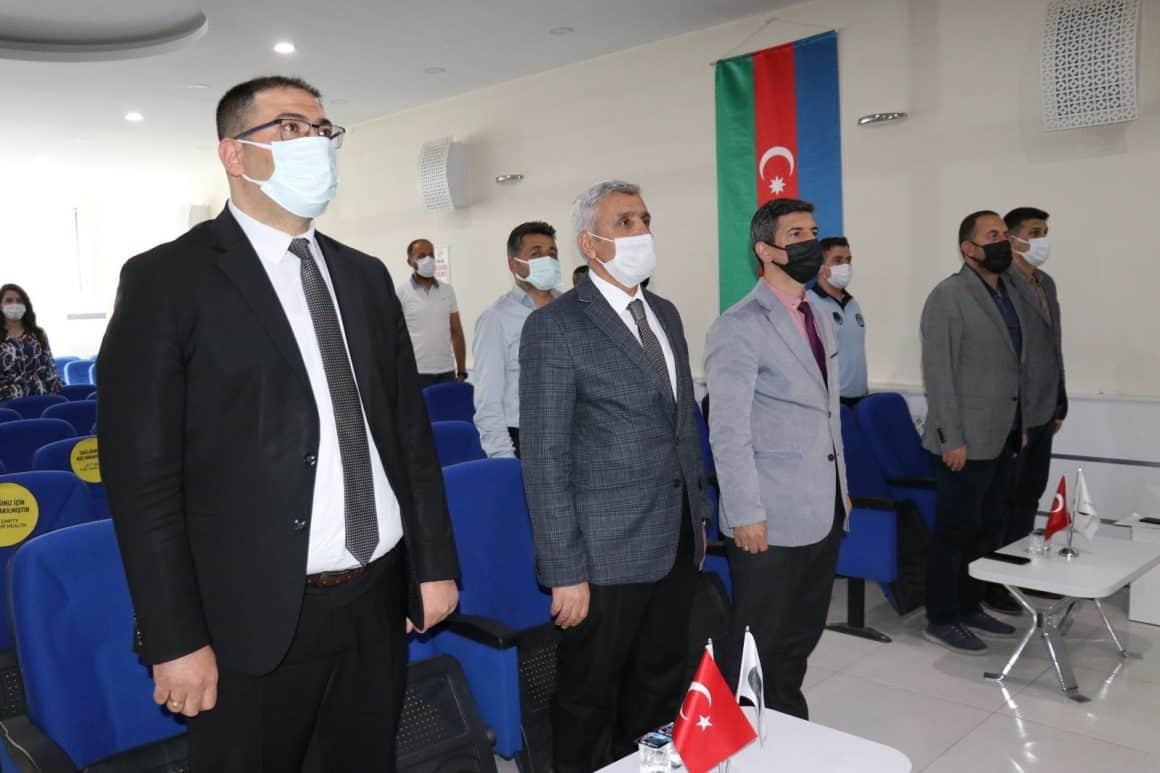 """İpekyolu Belediyesinden """"Azerbaycan'ın Türk tarihindeki yeri"""" konferansı"""