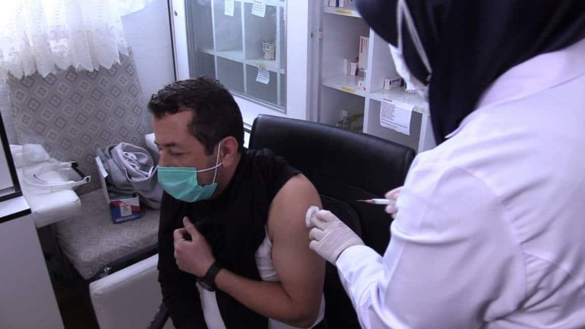 Isparta'da 252 bin 791 doz aşı yapıldı