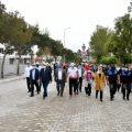 Isparta'da Avrupa Hareketlilik Haftası için yürüdüler