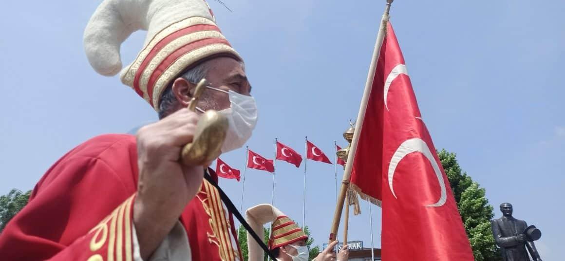 İstanbul'un Fethi mehter ile kutlandı