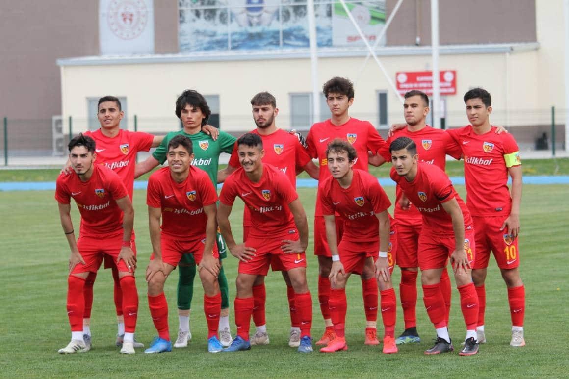 Kayserispor U19 deplasmandan eli boş döndü