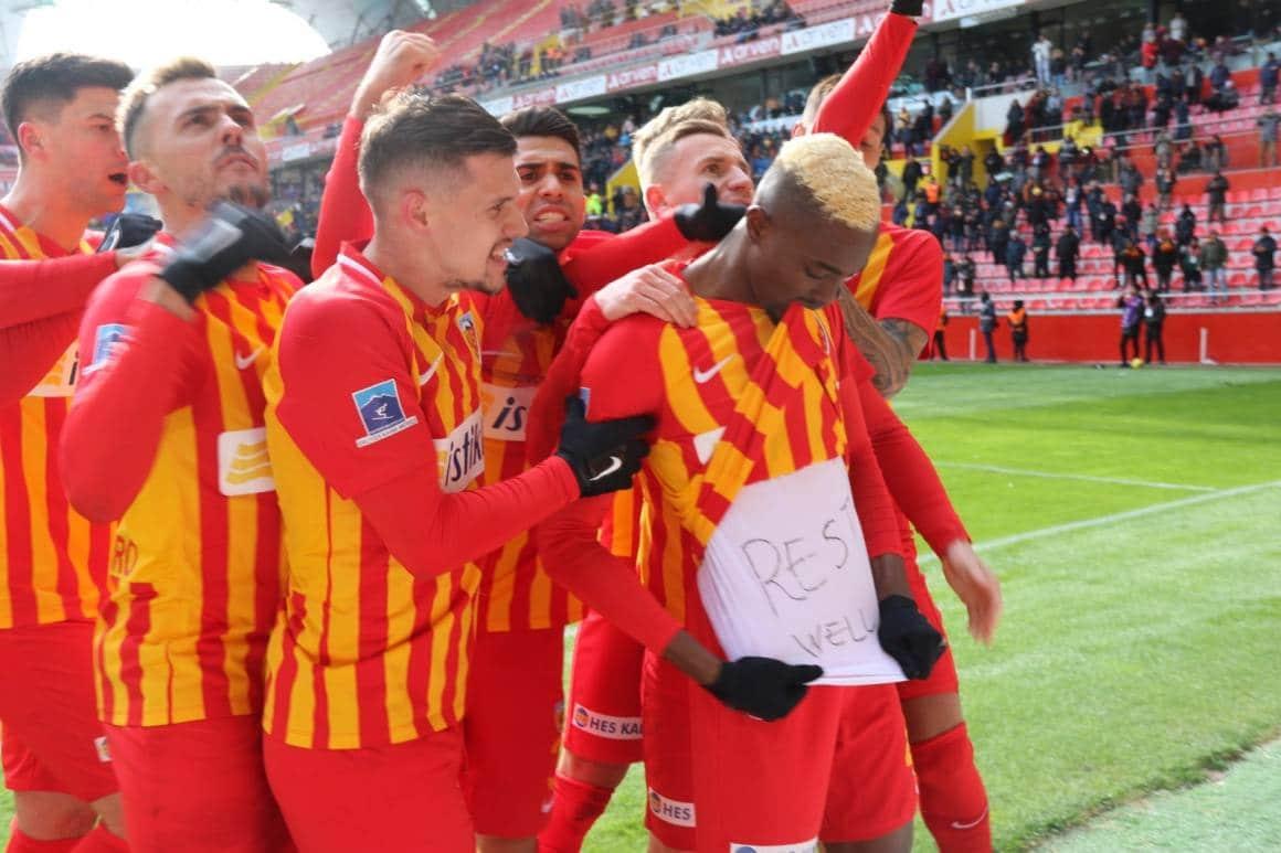 Kayserispor'da yeni formalar için yarışma başlatıldı
