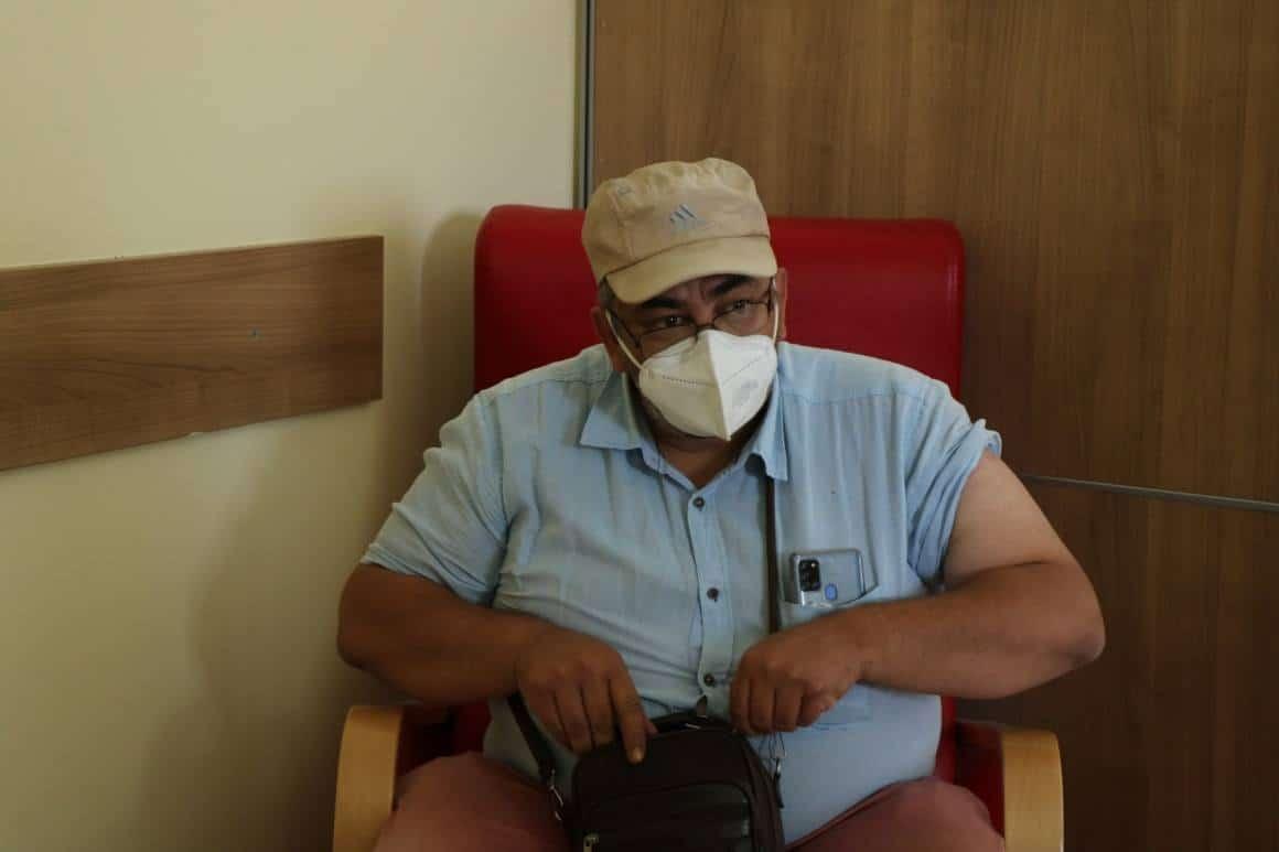 Kırşehir'de korona virüs aşısına yoğun ilgi