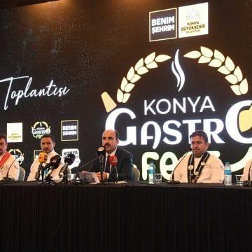 Konya GastroFest 1-3 Ekim'de yapılacak