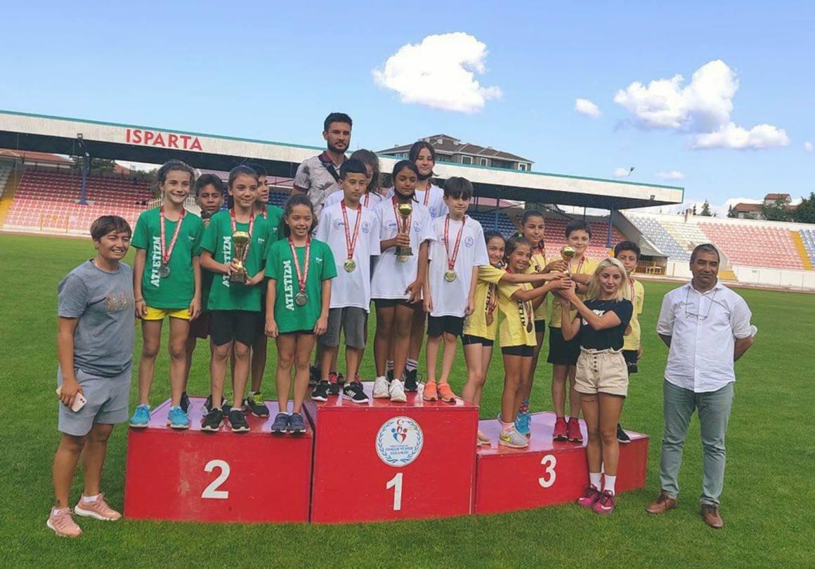 Köyceğiz'li atletler Türkiye şampiyonu