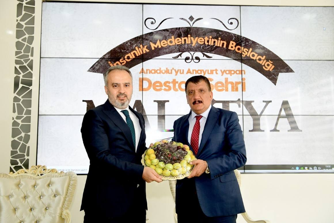 Malatya ile Bursa arasında tecrübe paylaşımı