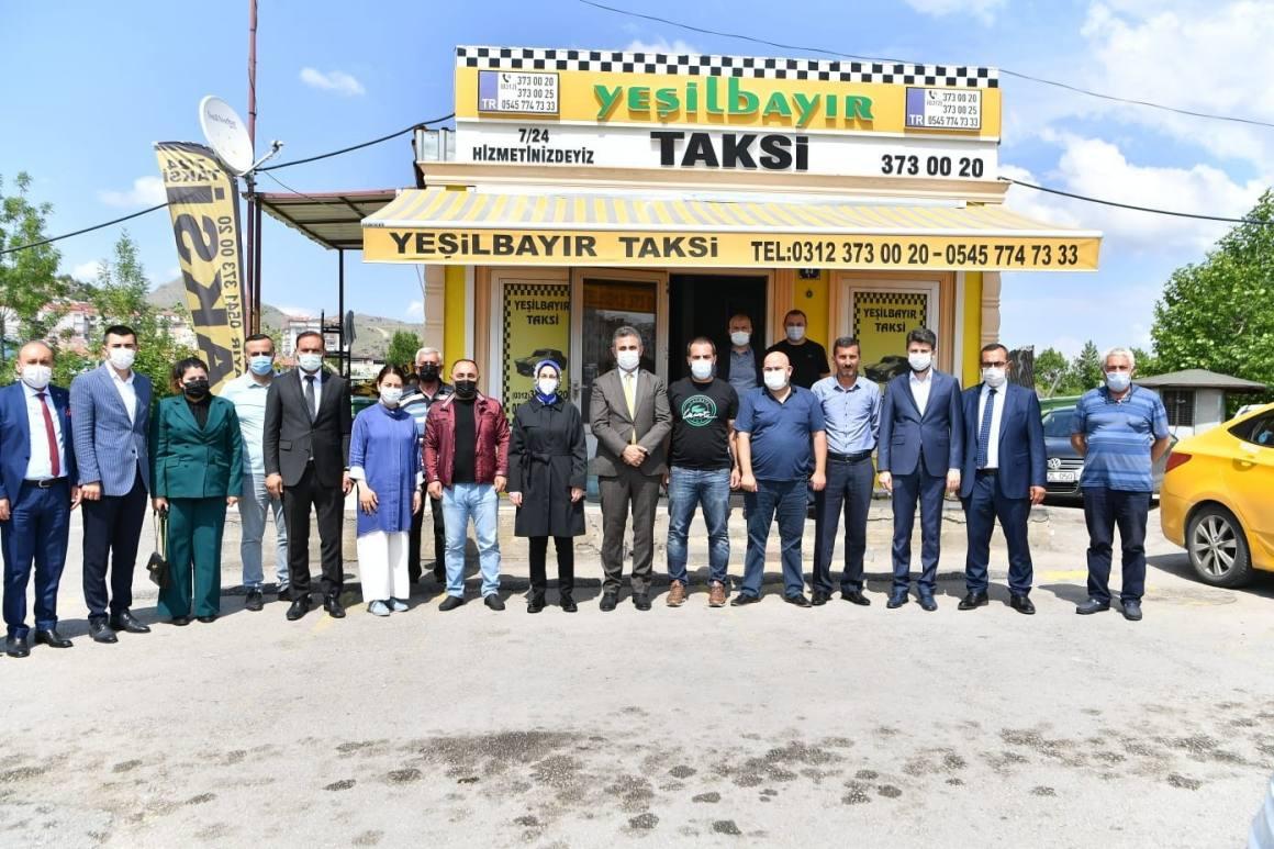 Mamak Belediye Başkanı Köse'den esnafa ziyaret