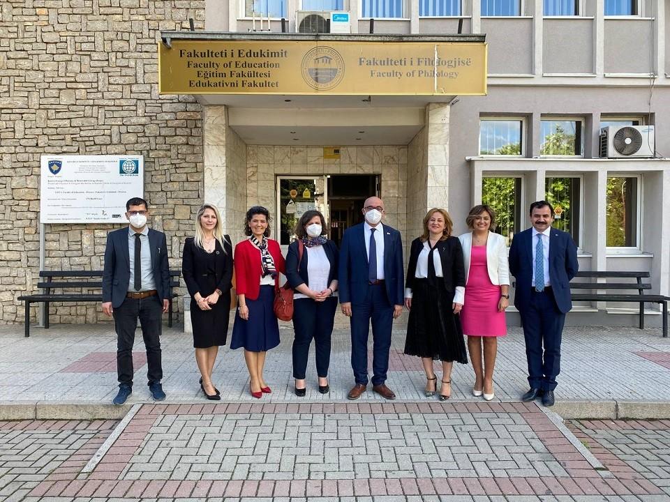Manisa CBÜ Rektörü Prof. Dr. Ataç Kosova ve Bulgaristan'da temaslarda bulundu
