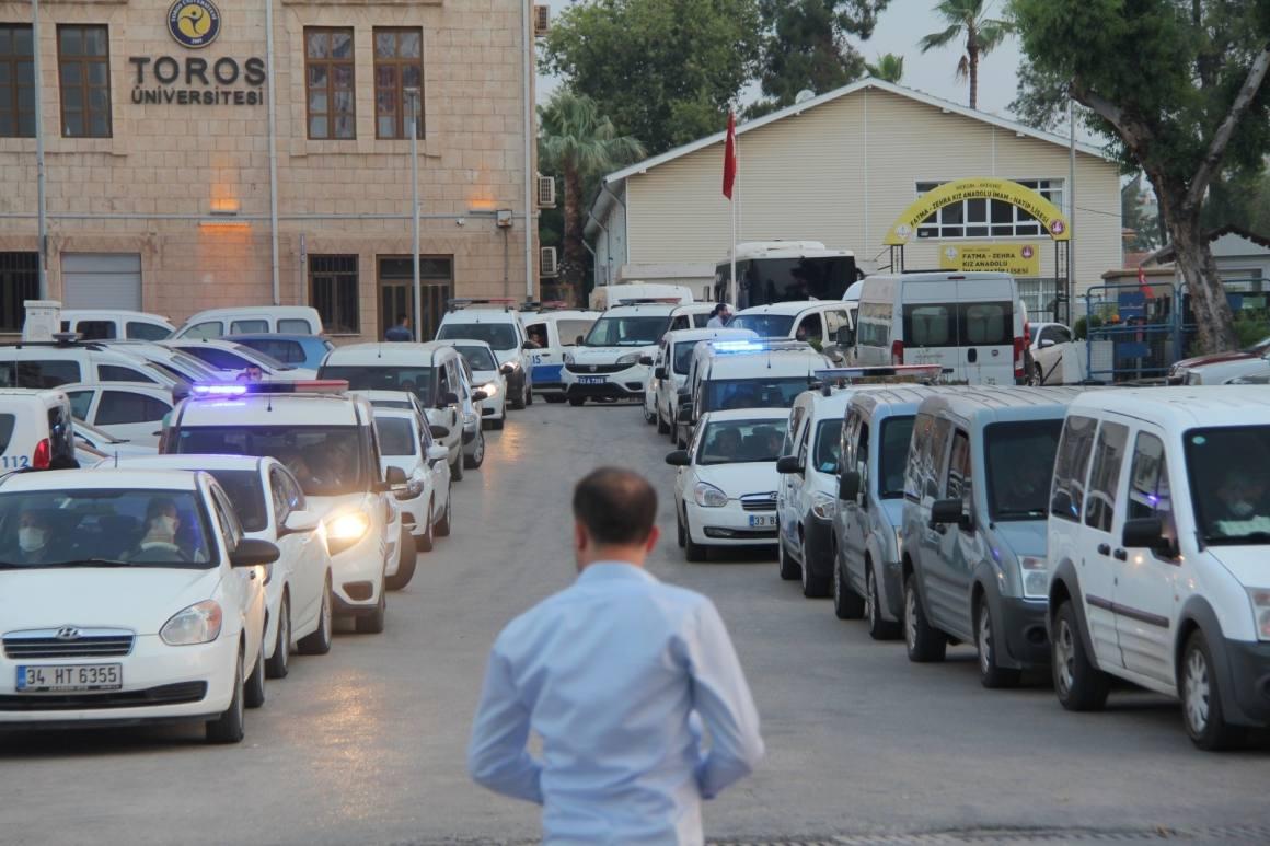 Mersin merkezli 14 ilde organize suç örgütü operasyonu: 110 gözaltı kararı