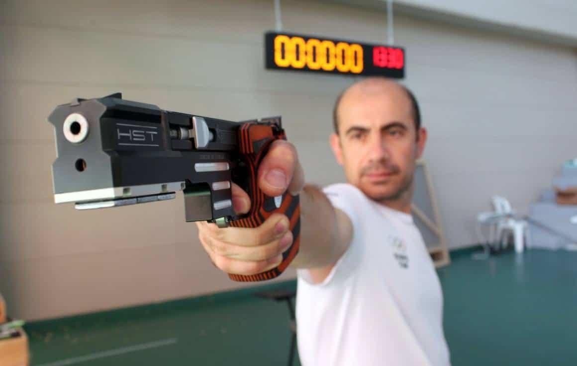 Milli sporcu Özgür Varlık, Tokyo Olimpiyatları için son hazırlıklarını yapıyor