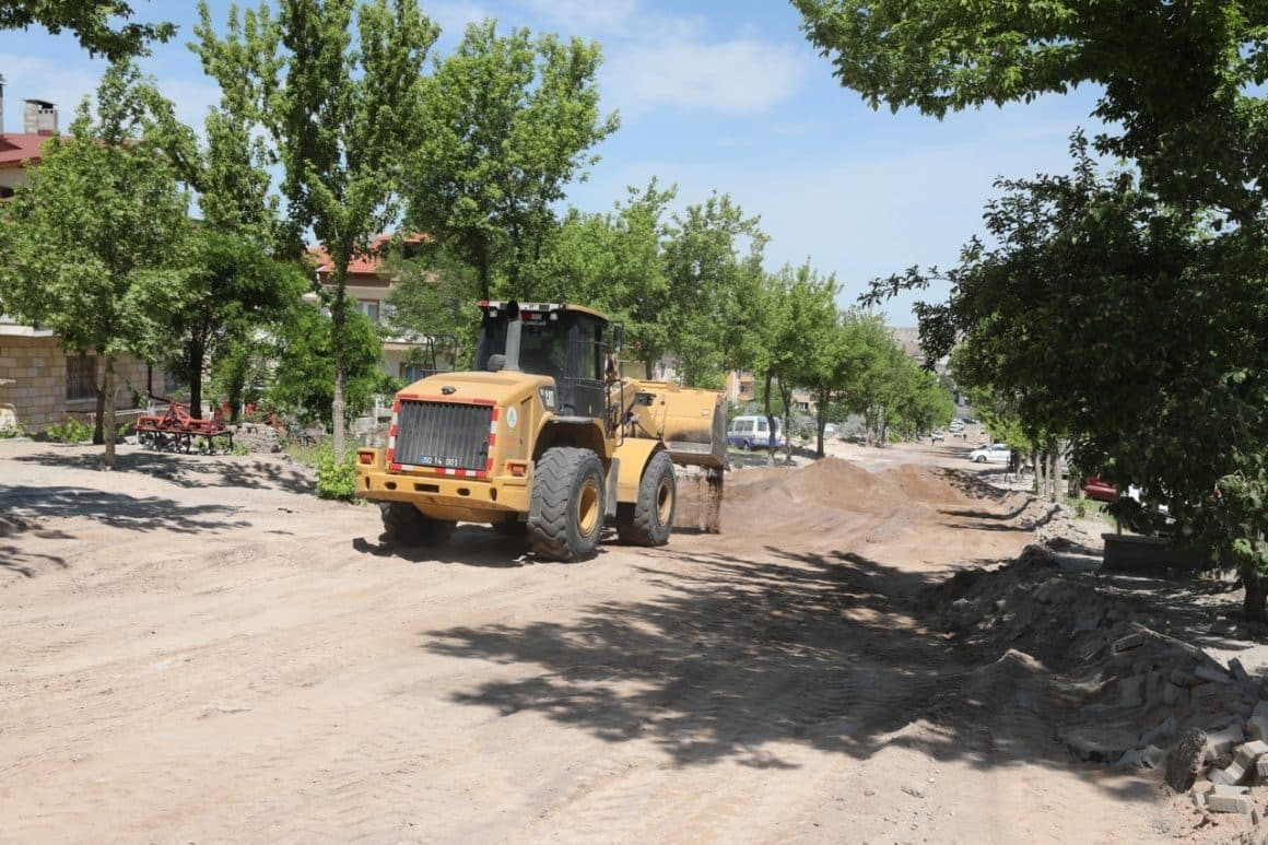 Nevşehir'de 3 caddenin altyapı çalışmaları sona erdi