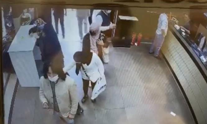 (ÖZEL) Fatih'te Arap turistler Çeçen turisti böyle soydu