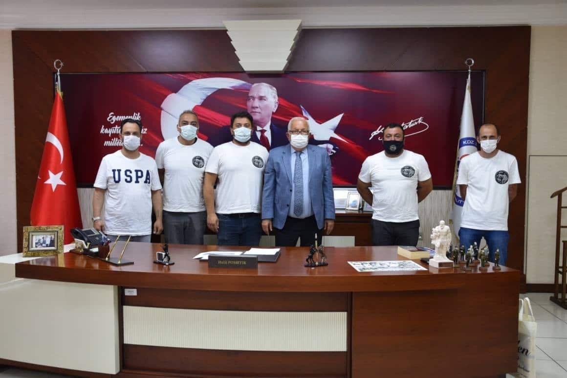 Off-Road Kulübü üyelerinden Başkan Posbıyık'a teşekkür